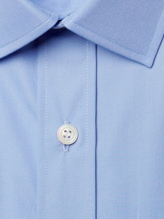CHARVET Blue Cotton Shirt