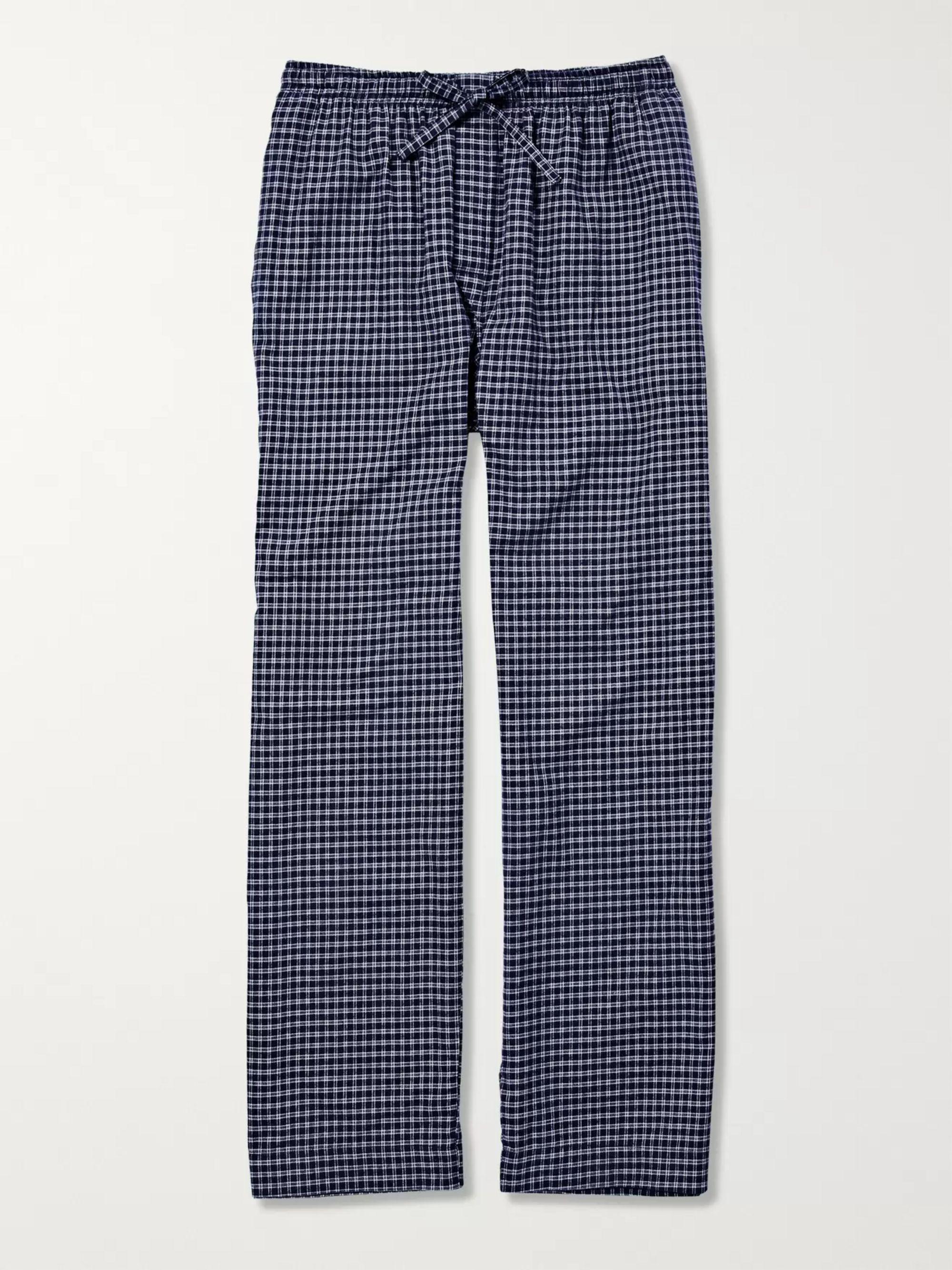 Navy Pyjama Fit Trousers