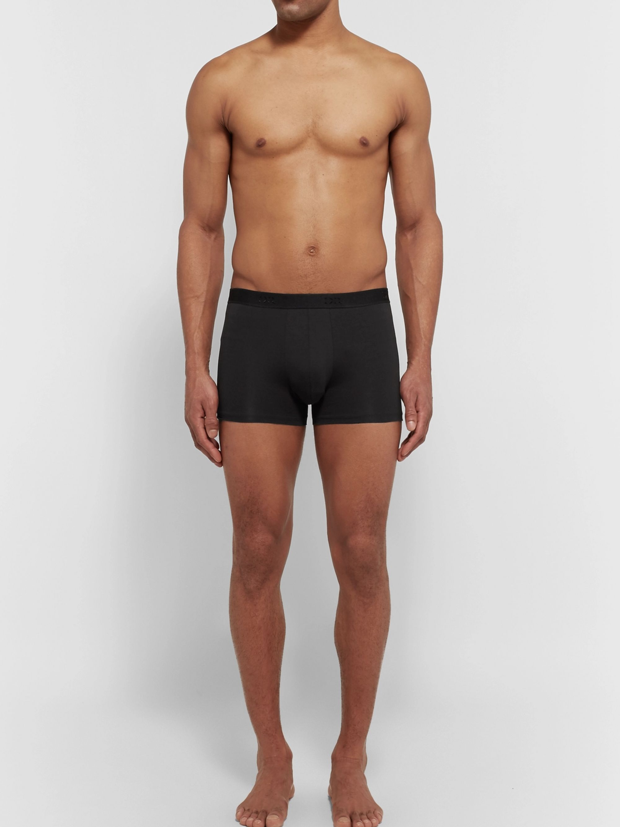 DEREK ROSE Jack Stretch-Pima Cotton Boxer Briefs