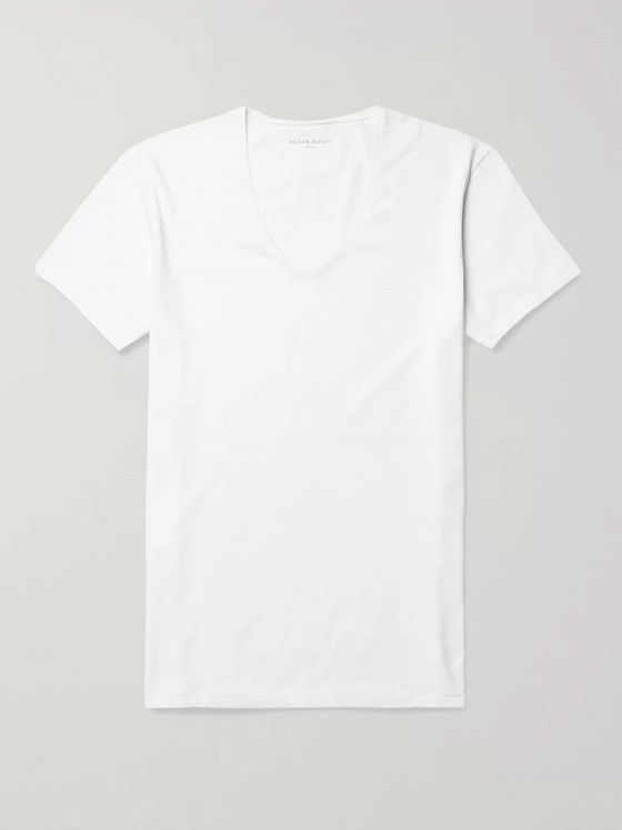 Derek Rose Jack Pima Cotton-Blend T-Shirt