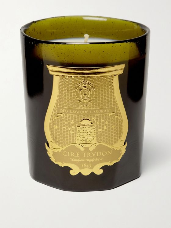 Cire Trudon Ernesto Tobacco and Leather Scented Candle, 270g