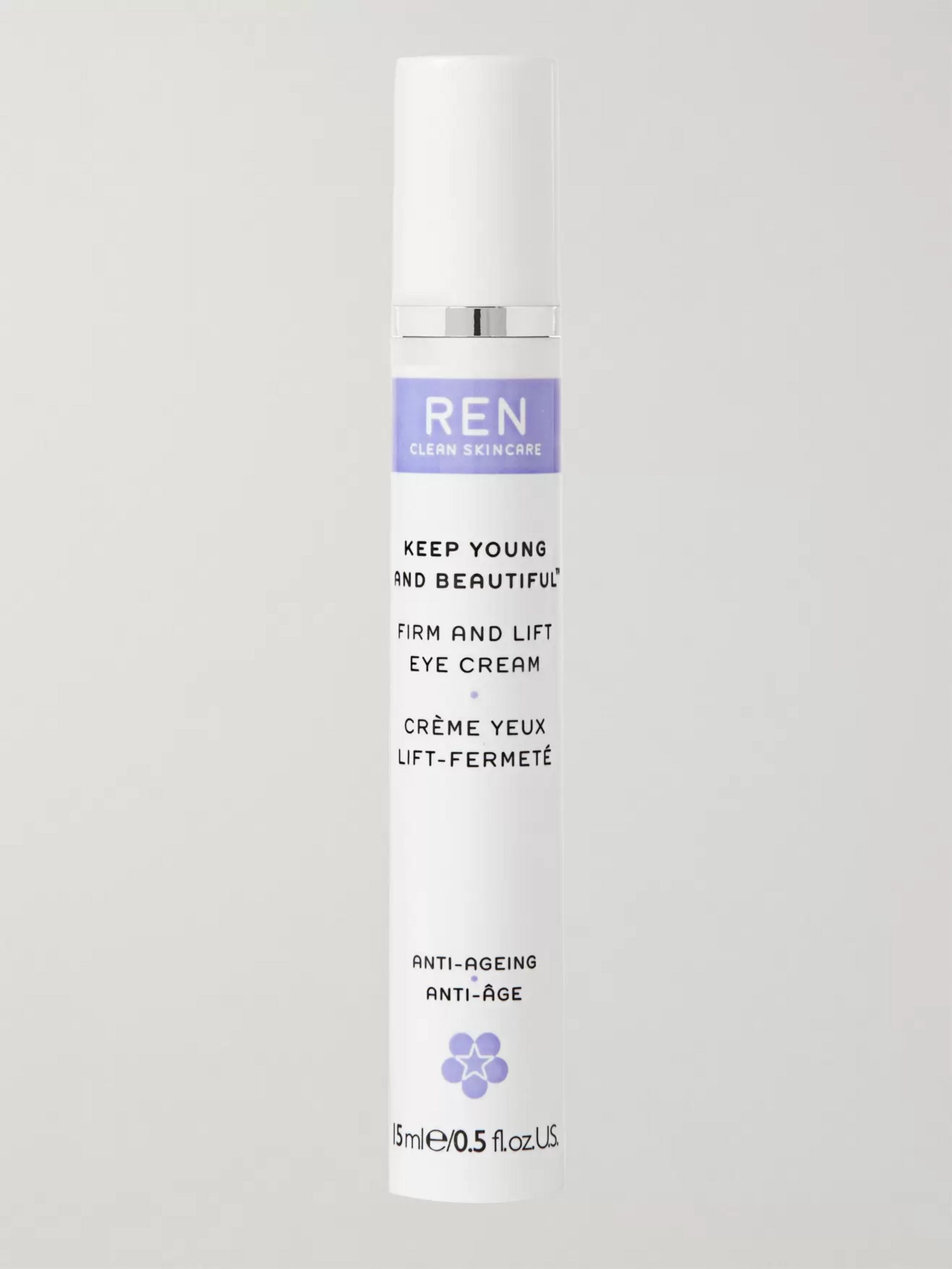 REN Clean Skincare Firm and Lift Eye Cream, 15ml