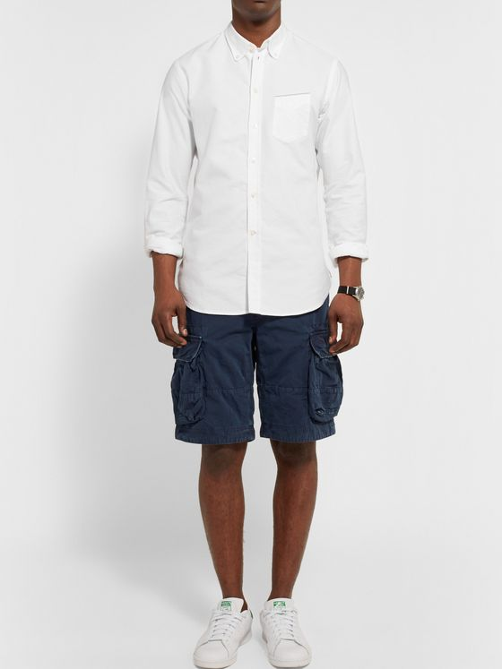 OFFICINE GÉNÉRALE Cotton Oxford Shirt