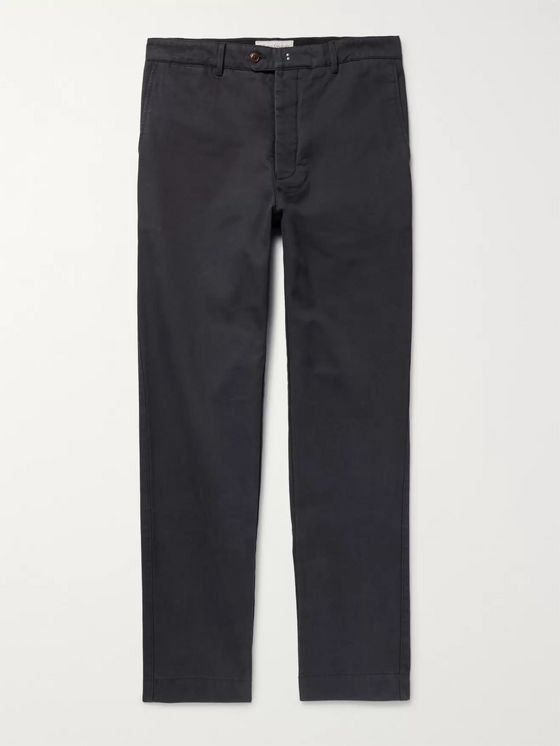 OFFICINE GÉNÉRALE New Fisherman Cotton-Twill Chinos