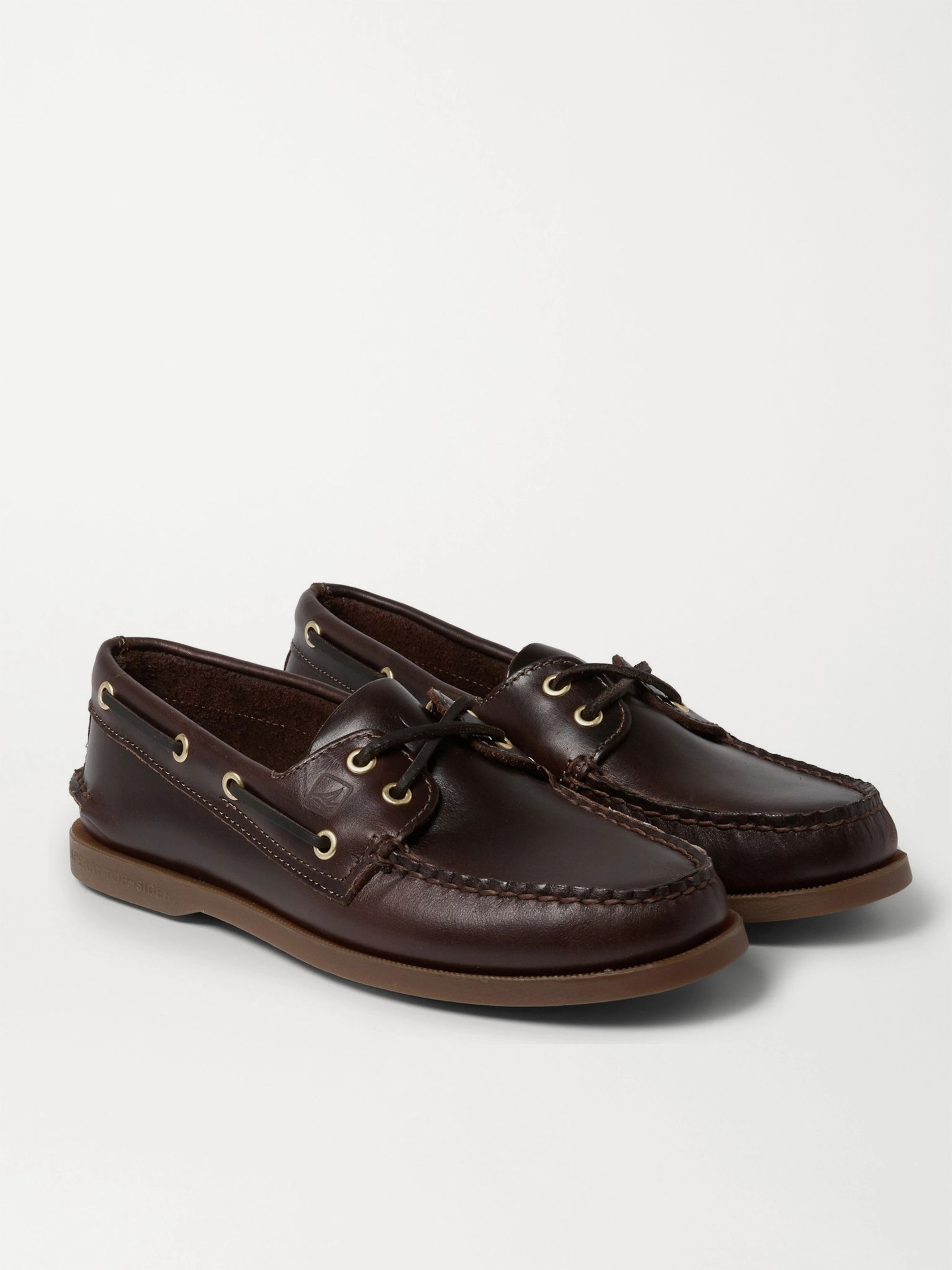 Authentic Original Burnished Leather Boat Shoes