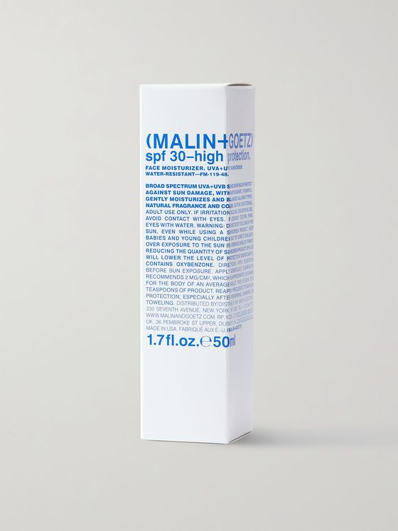 MALIN + GOETZ SPF30 Face Moisturizer, 50ml