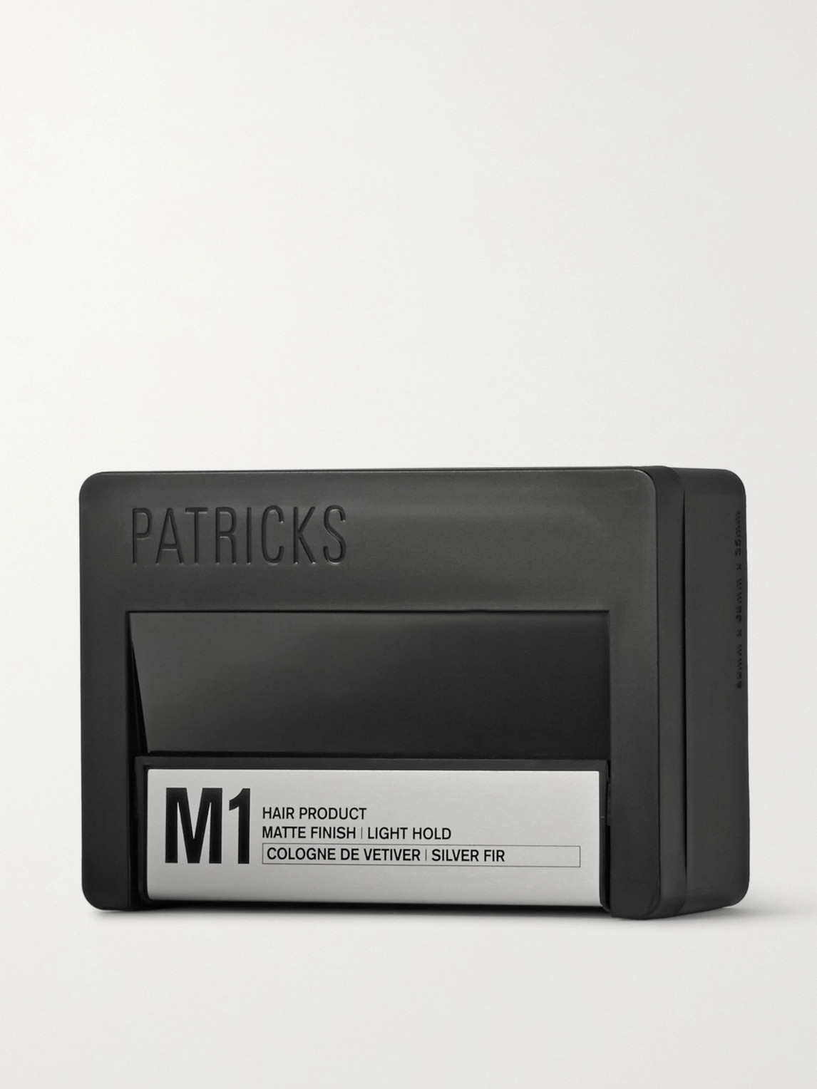 Patricks M2 Matte Finish Medium Hold Styling Product 75g In Colorless