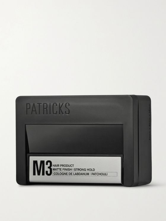 Patricks M3 Matte Finish Strong Hold Pomade, 75g