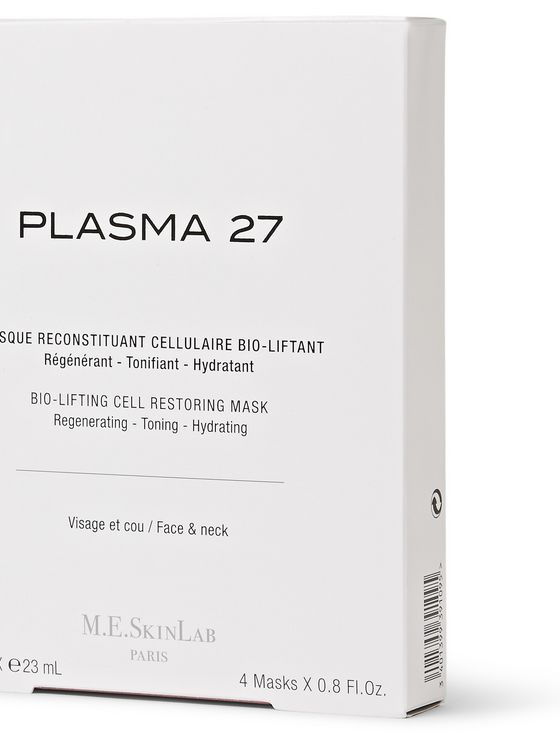 M.E. Skin Lab Plasma 27 - Set of 4 Bio-Lifting Cell-Restoring Masks