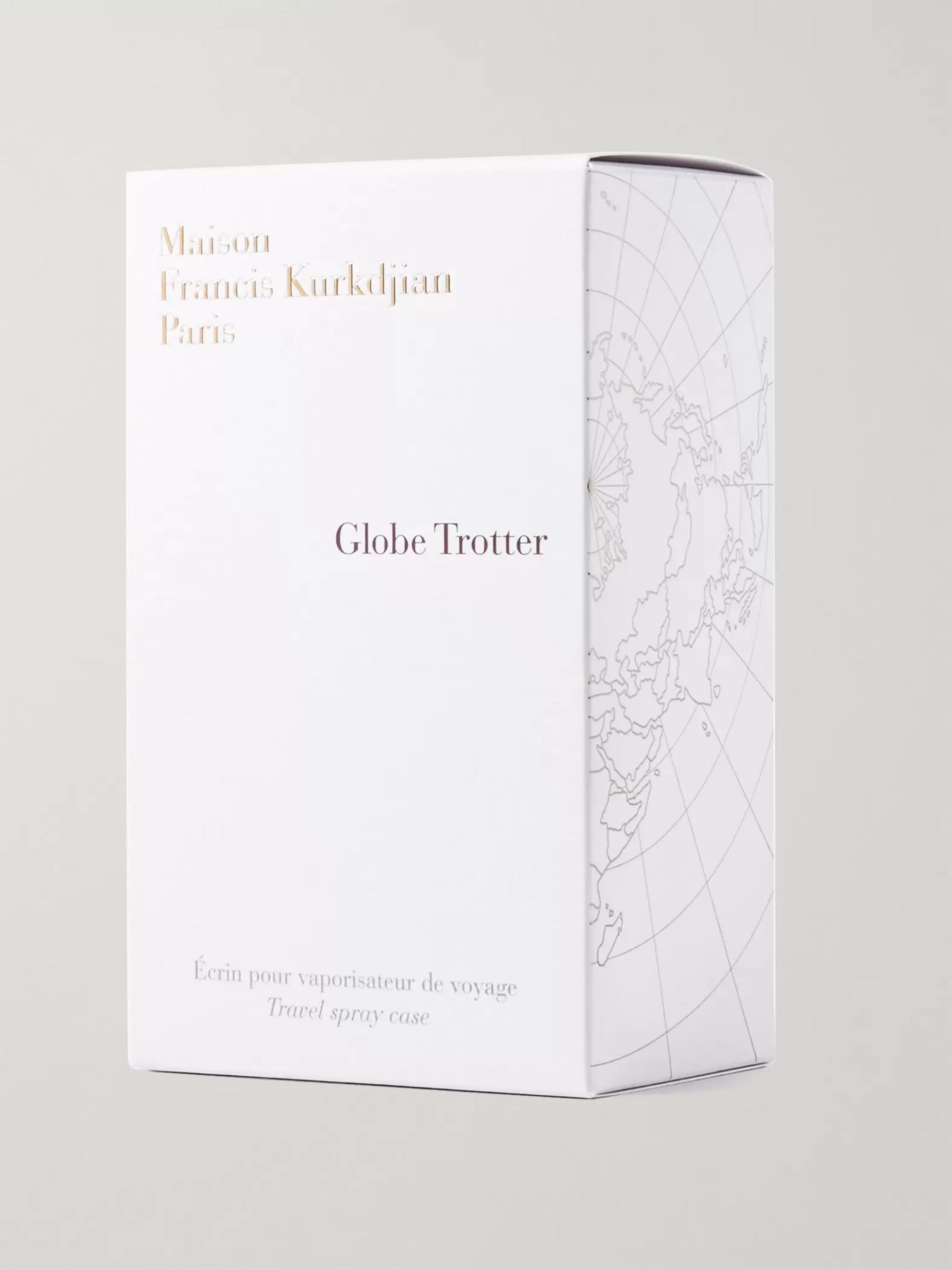 Maison Francis Kurkdjian Globe Trotter Zinc Edition Travel Spray Case
