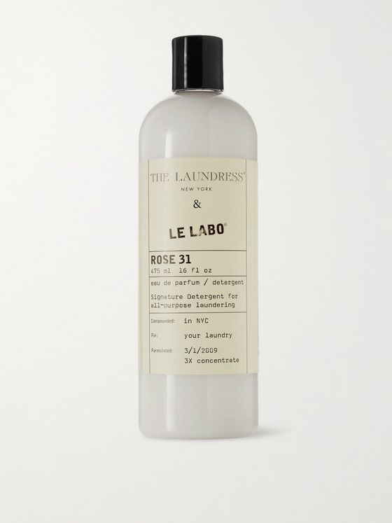 The Laundress + Le Labo Rose 31 Signature Detergent, 475ml
