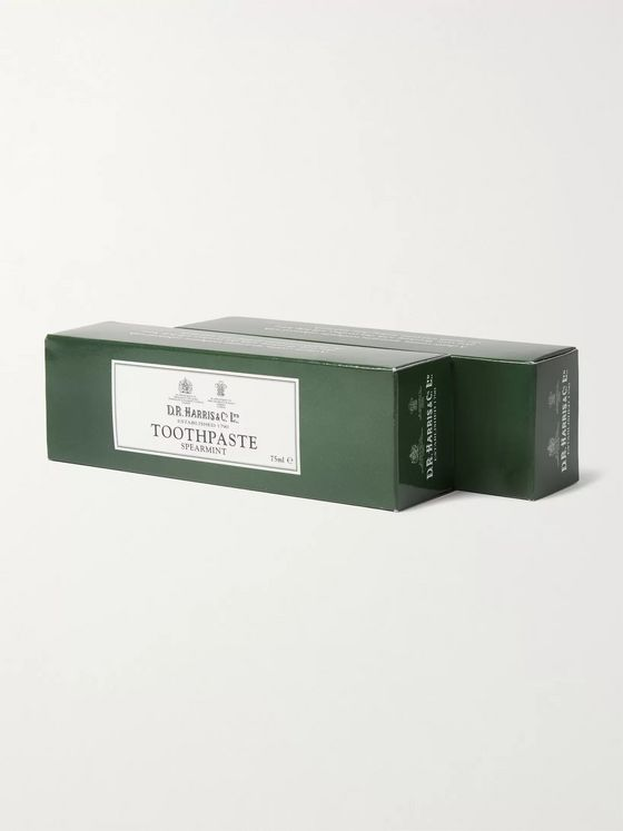 D R Harris Two-Pack Spearmint Toothpaste