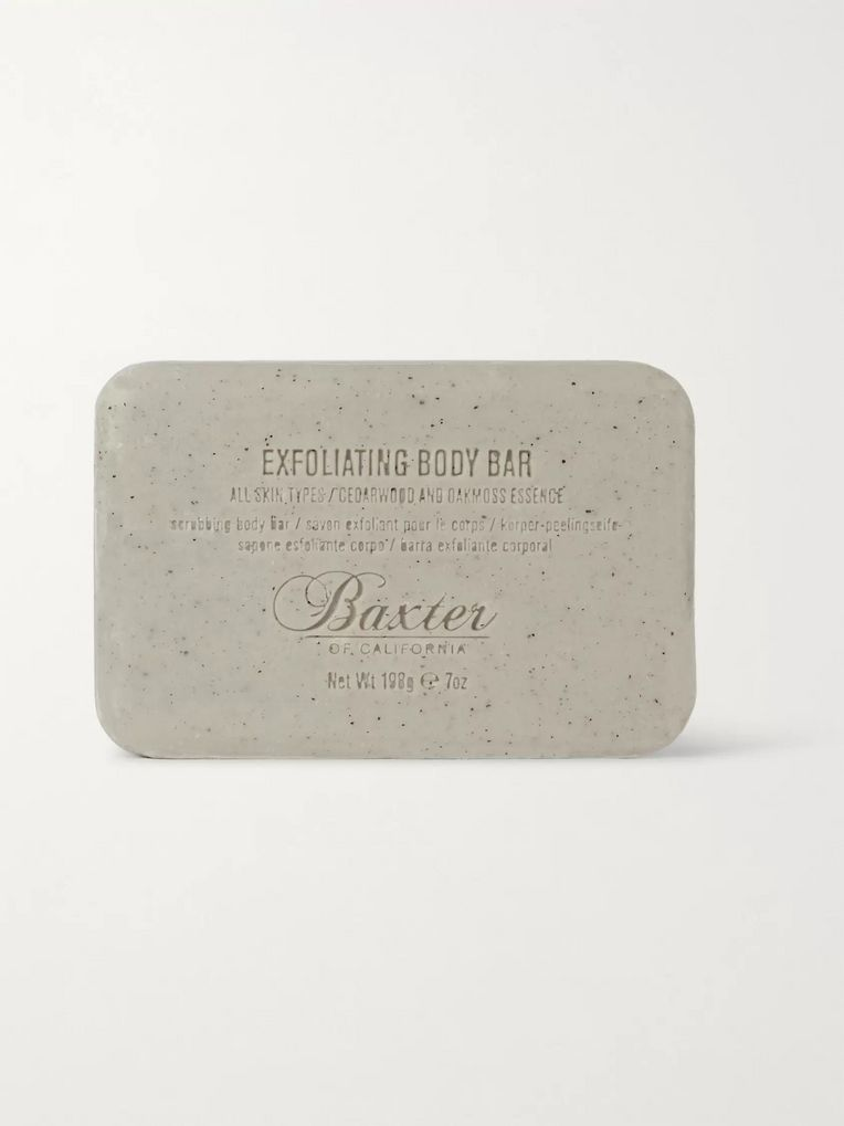 Baxter of California Exfoliating Body Bar - Cedarwood/ Oakmoss Essence