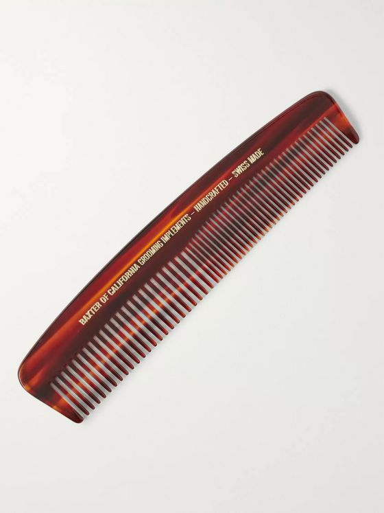 Baxter of California Tortoiseshell Acetate Pocket Comb