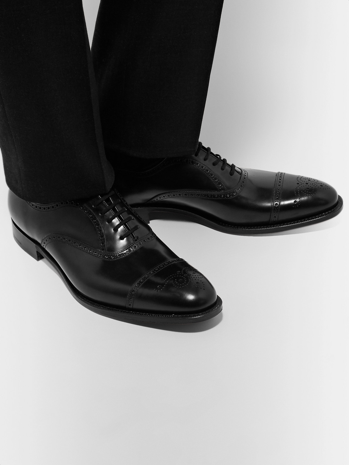 Church's Oxfords TORONTO CAP-TOE LEATHER OXFORD BROGUES
