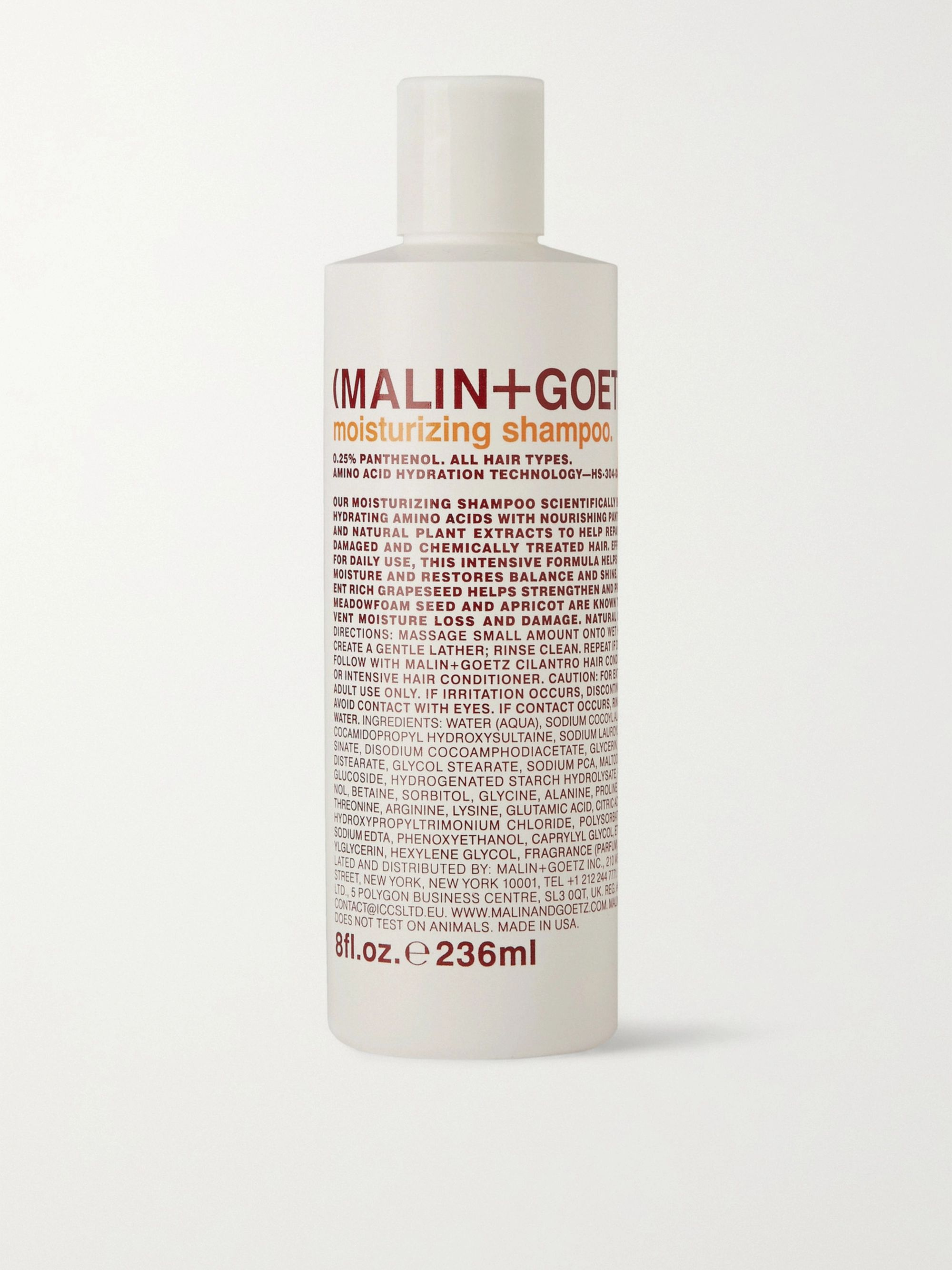 Malin + Goetz Moisturizing Shampoo, 236ml