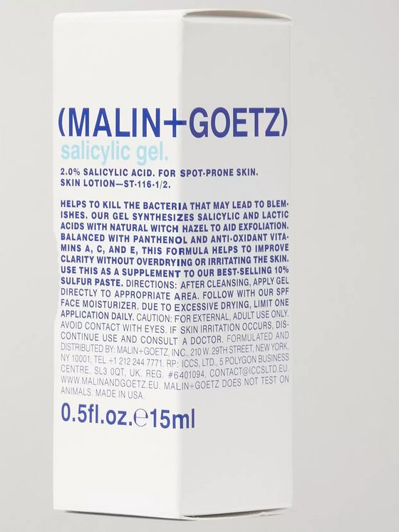Malin + Goetz Salicylic Gel, 15ml