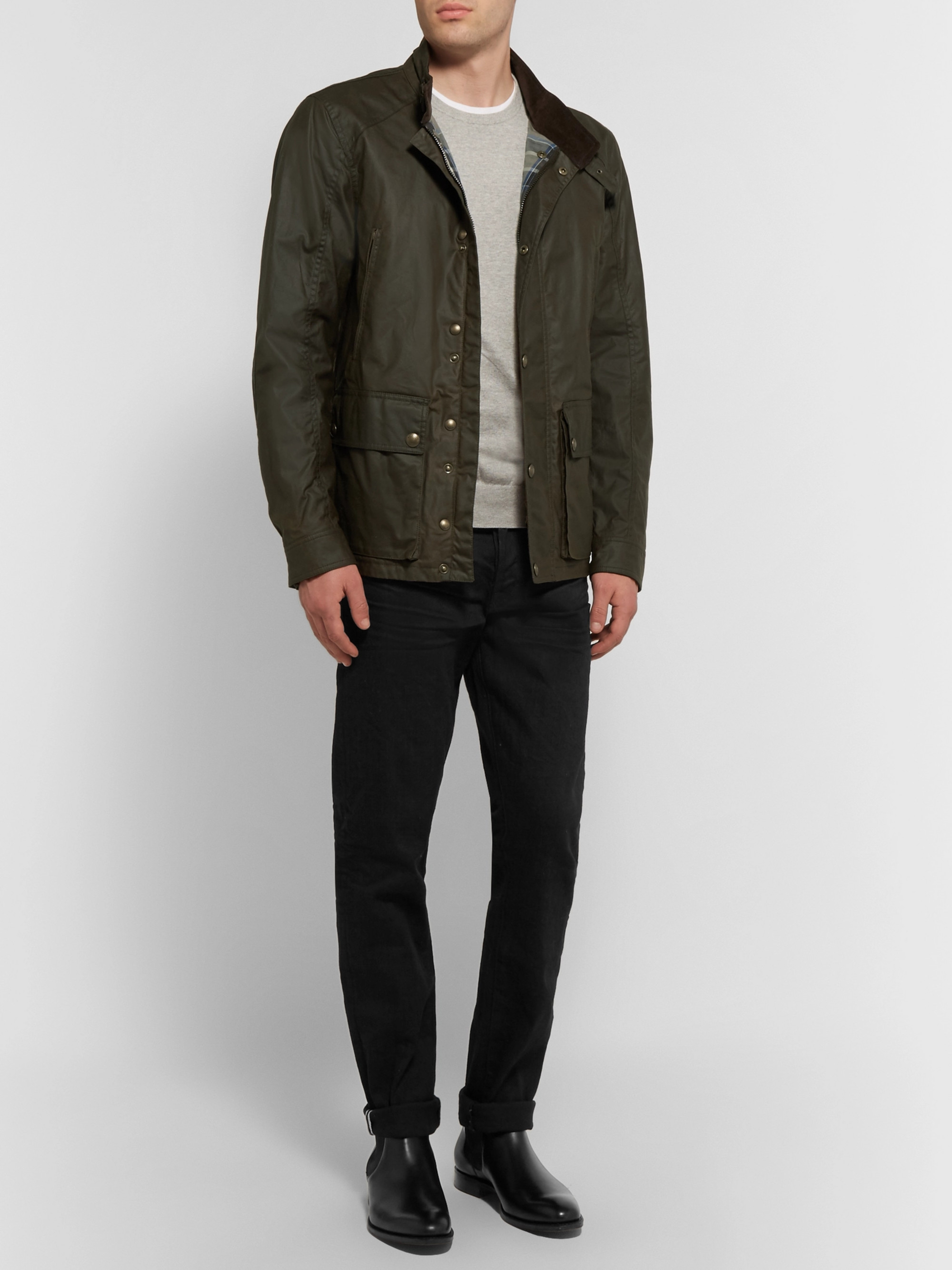 Belstaff Tourmaster Waxed-Cotton Jacket