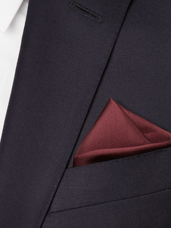 KINGSMAN + Drake's Silk Pocket Square