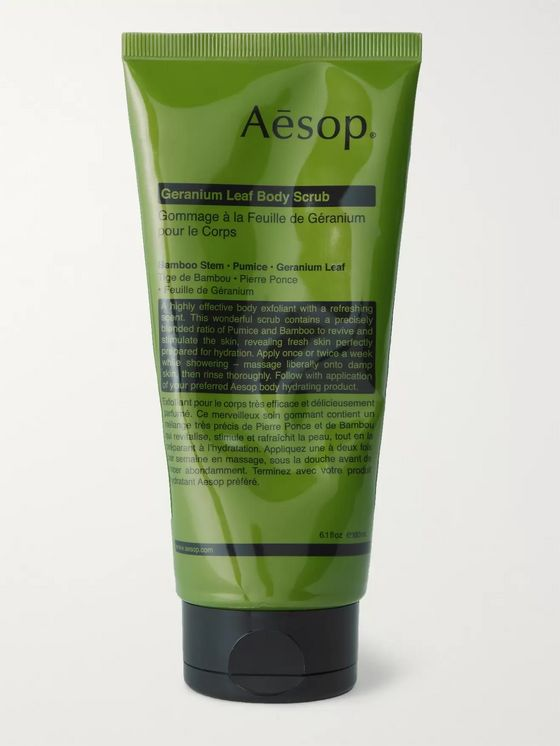 Aesop Geranium Leaf Body Scrub, 180ml