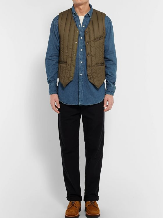 OrSlow Denim Western Shirt