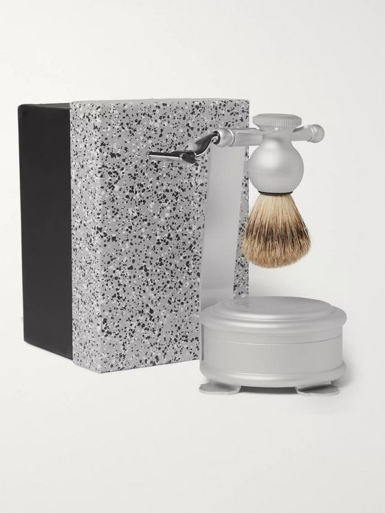 Czech & Speake Oxford & Cambridge Shaving Set and Stand