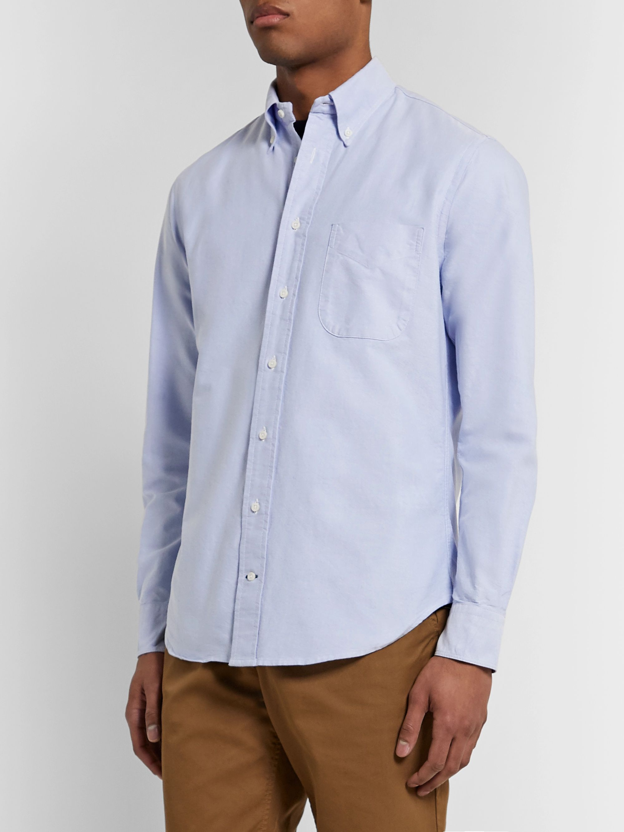 Gitman Vintage Button-Down Collar Cotton Oxford Shirt
