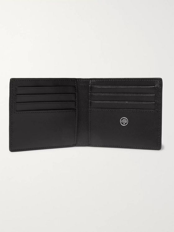 MULBERRY Full-Grain Leather Billfold Wallet