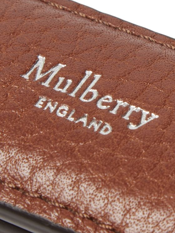 Mulberry Full-Grain Leather Money Clip