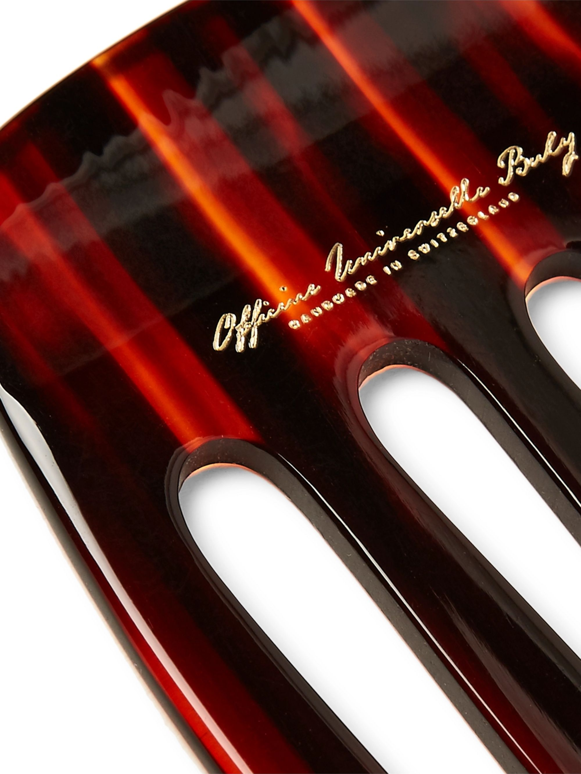 Buly 1803 Horn-Effect Acetate Pick Comb