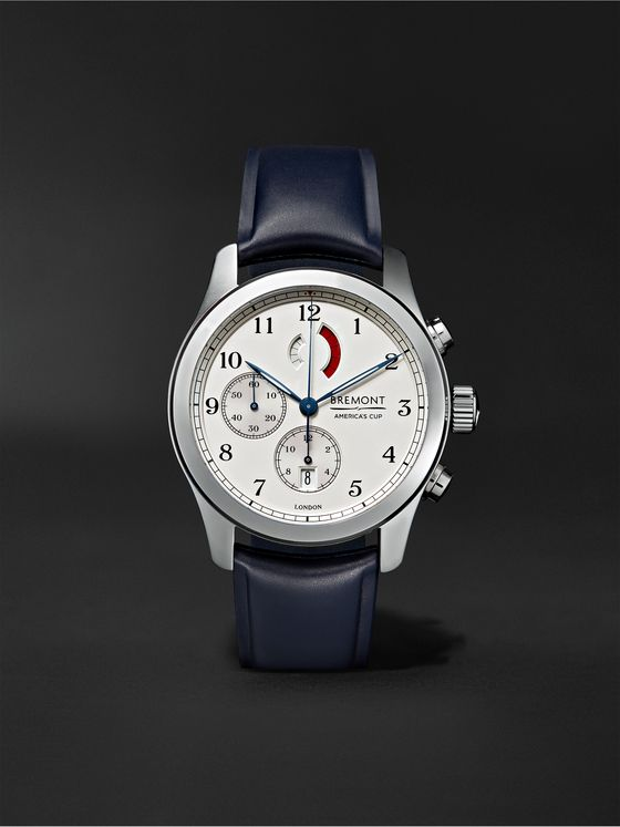 Bremont America's Cup Regatta Chronograph 43mm Stainless Steel and Rubber Watch, Ref. No. AC-R/SS