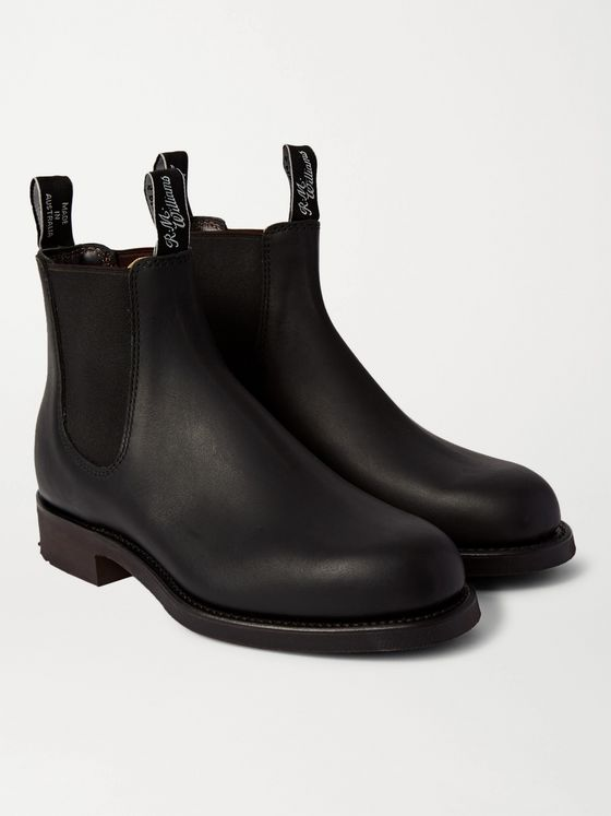 R.M.Williams Gardener Whole-Cut Leather Chelsea Boots