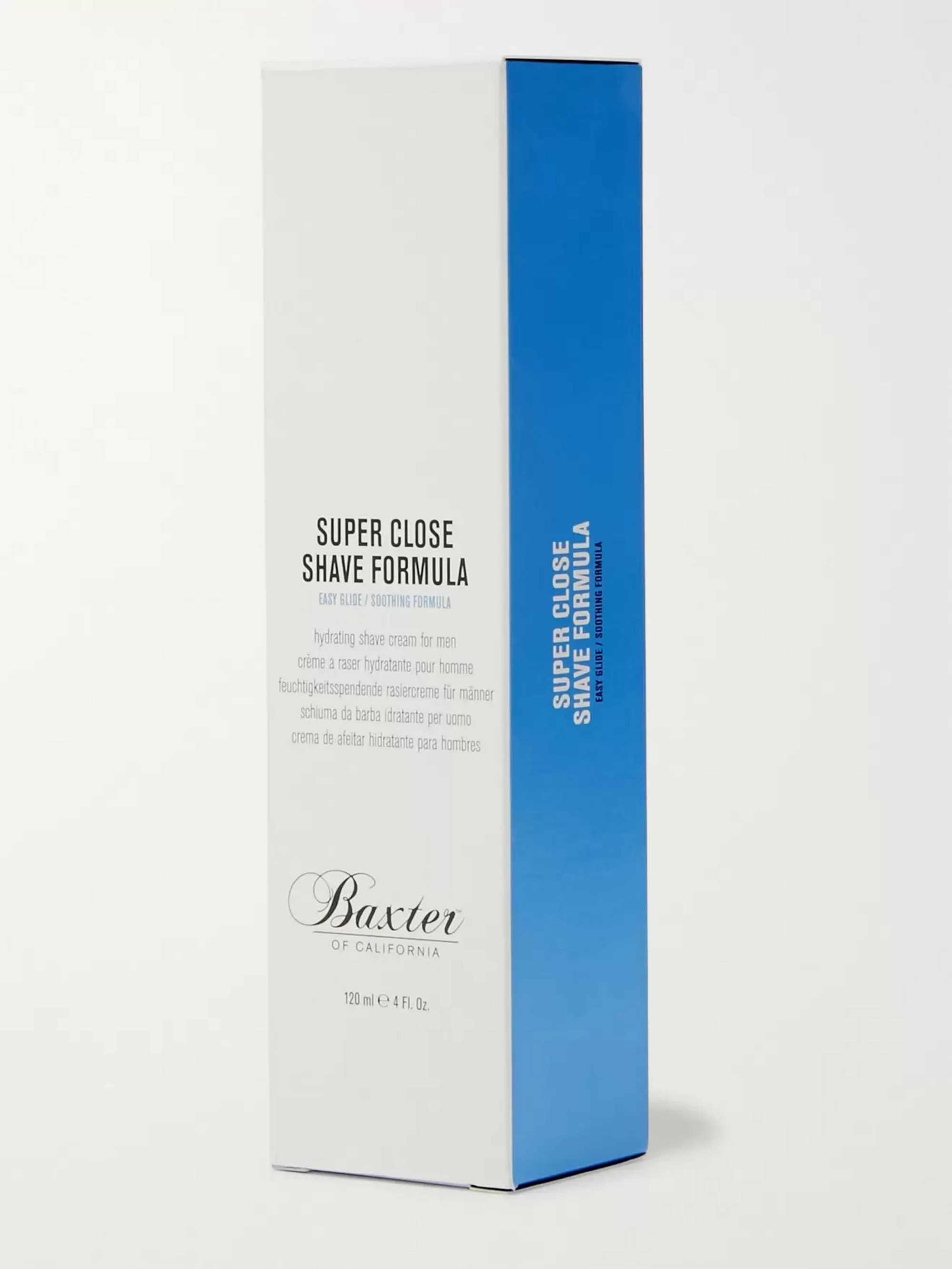 Baxter of California Super Close Shave Formula, 120ml