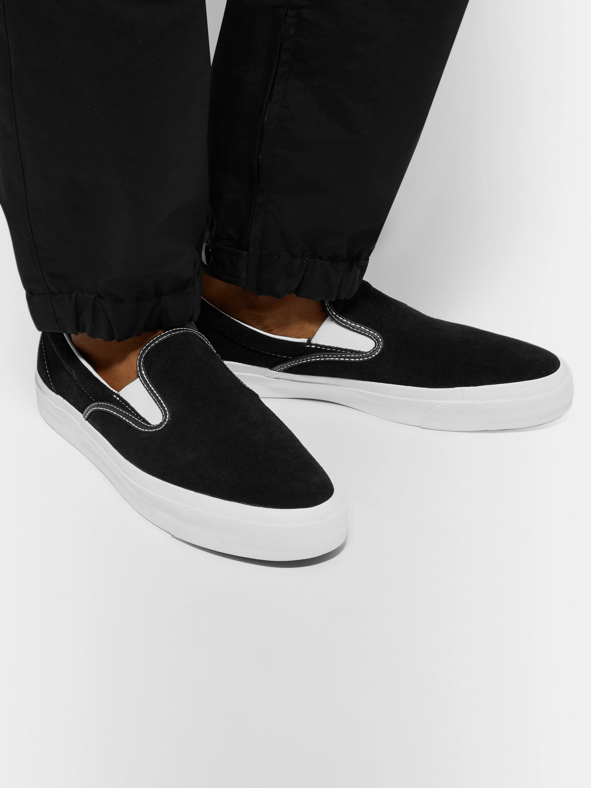 One Star CC Suede Slip On Sneakers