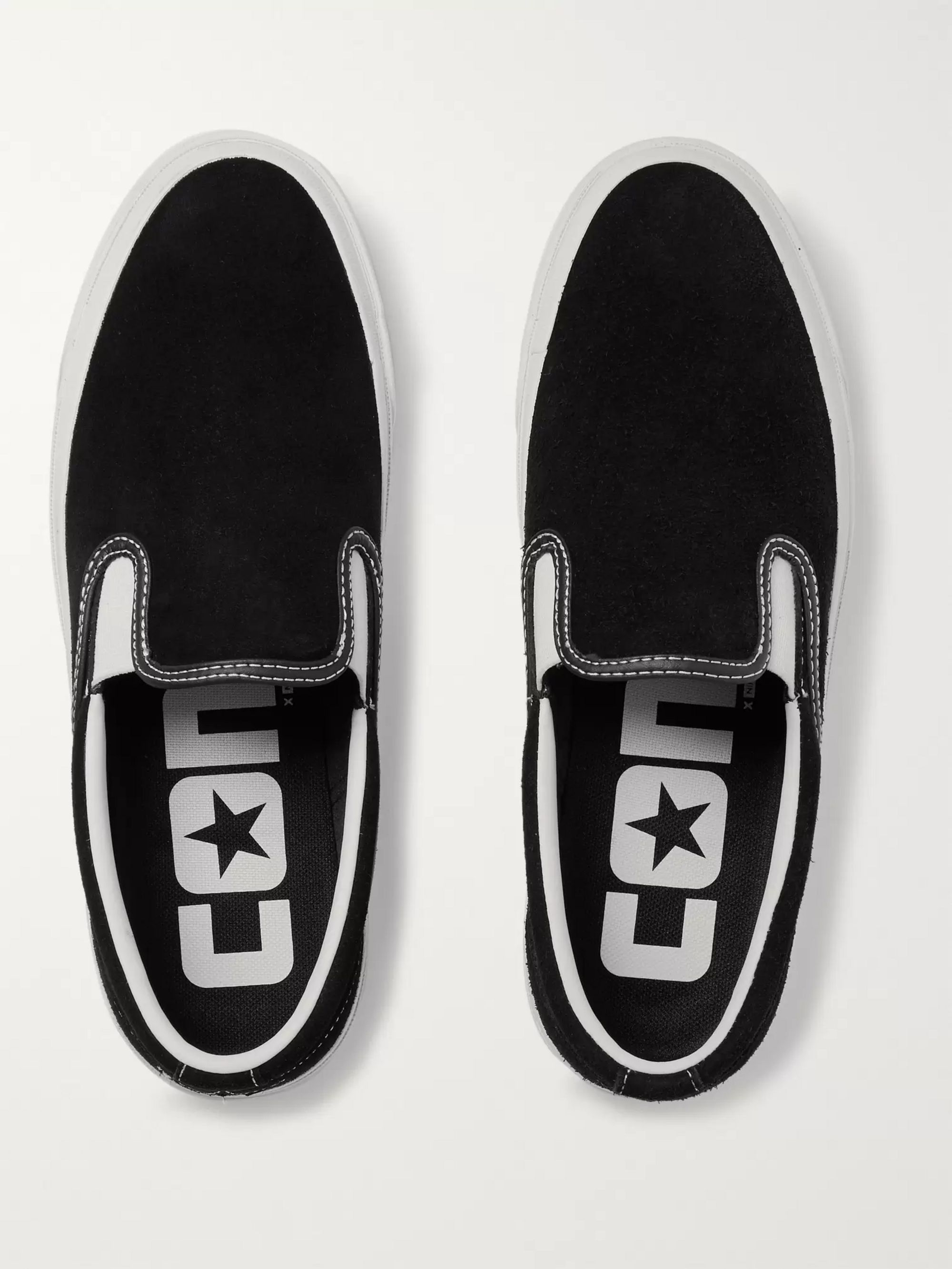 Converse One Star CC Suede Slip-On Sneakers