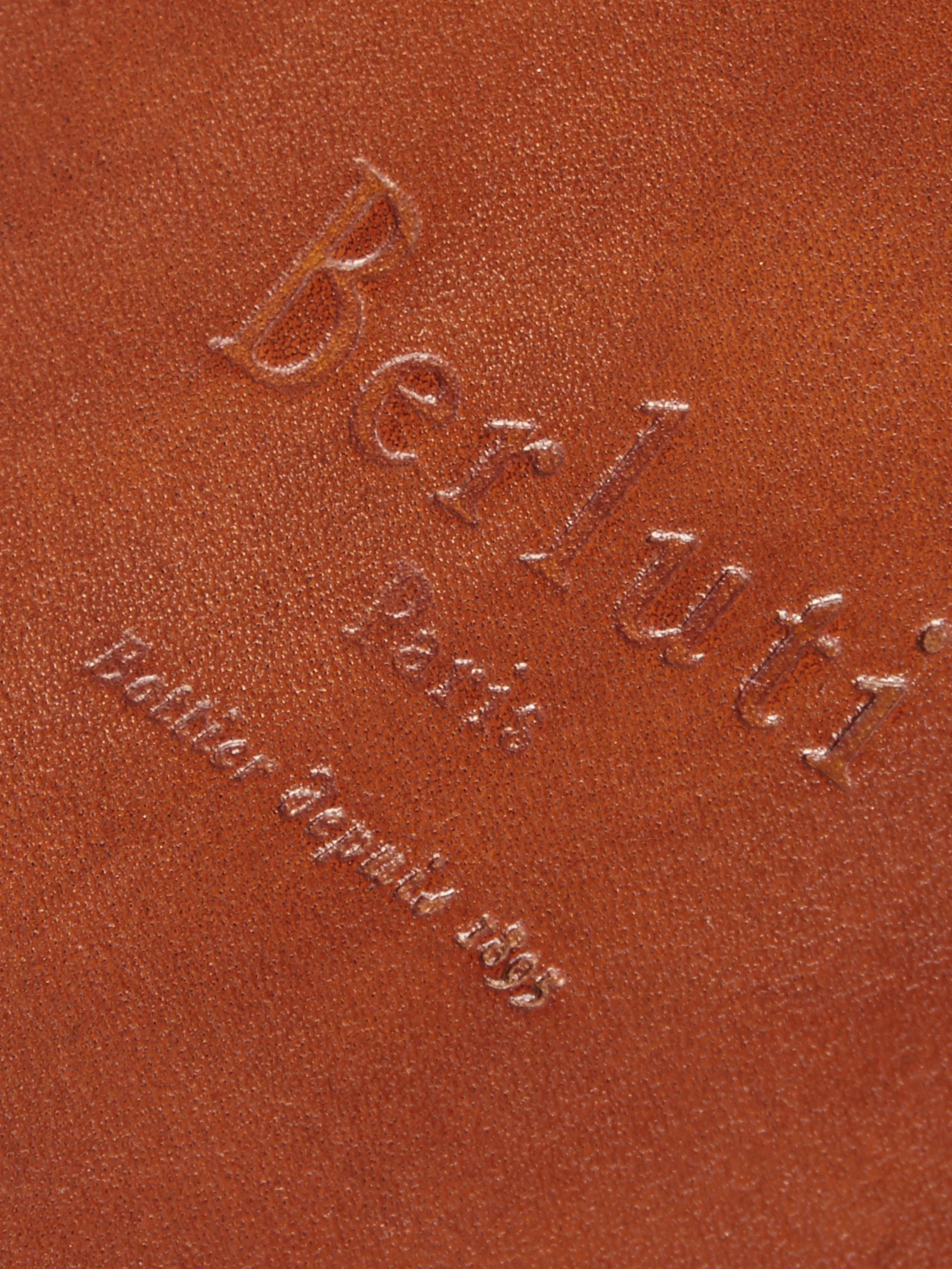 Berluti Polished-Leather and Wood Cigar Box