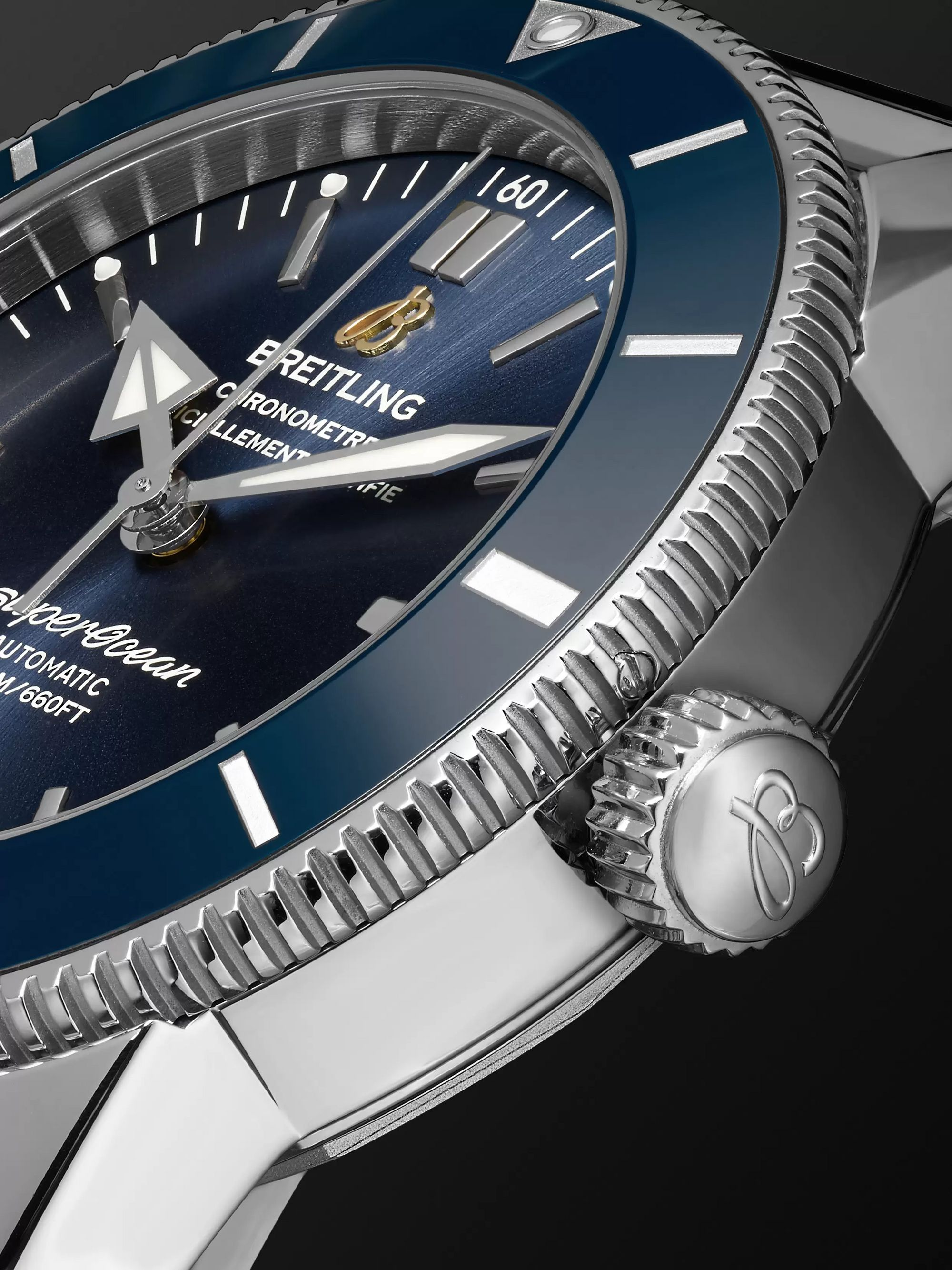 Breitling Superocean Héritage II B20 Automatic 42mm Stainless Steel Watch, Ref. No. UB2010121B1S1