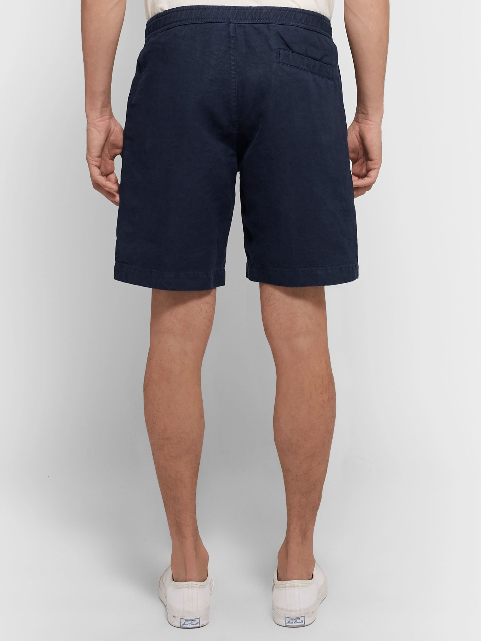Orlebar Brown Harton Linen Drawstring Shorts