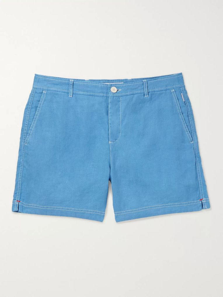 Orlebar Brown Linen Shorts