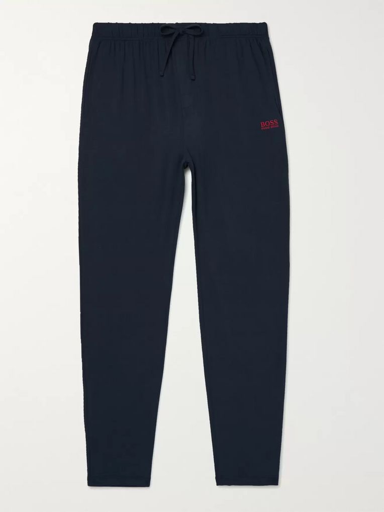 Hugo Boss Stretch-Modal and Silk-Blend Jersey Pyjama Trousers