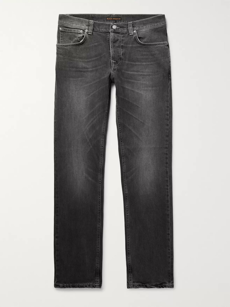 Nudie Jeans Grim Tim Organic Stretch-Denim Jeans