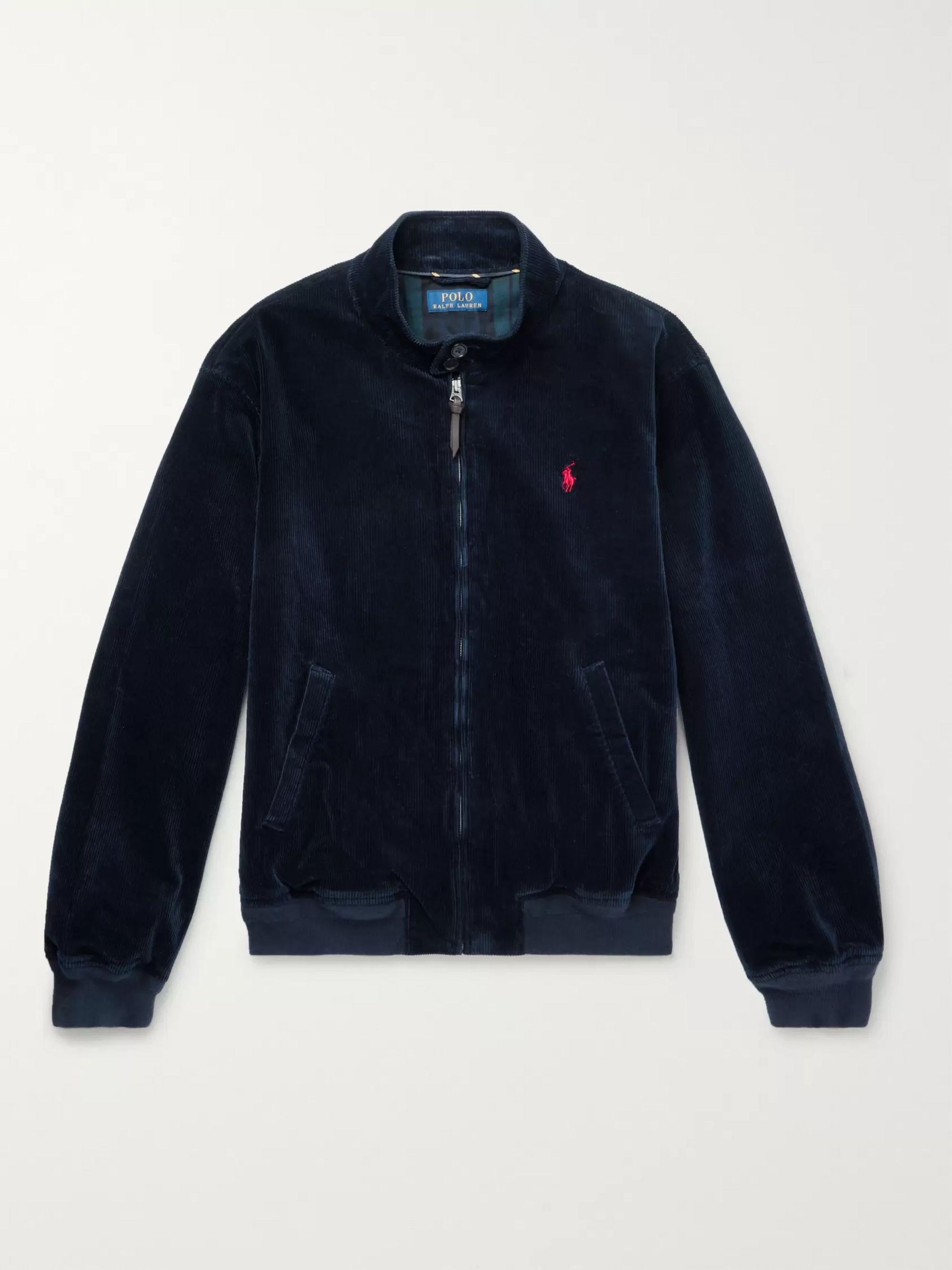 Stretch Cotton Corduroy Jacket