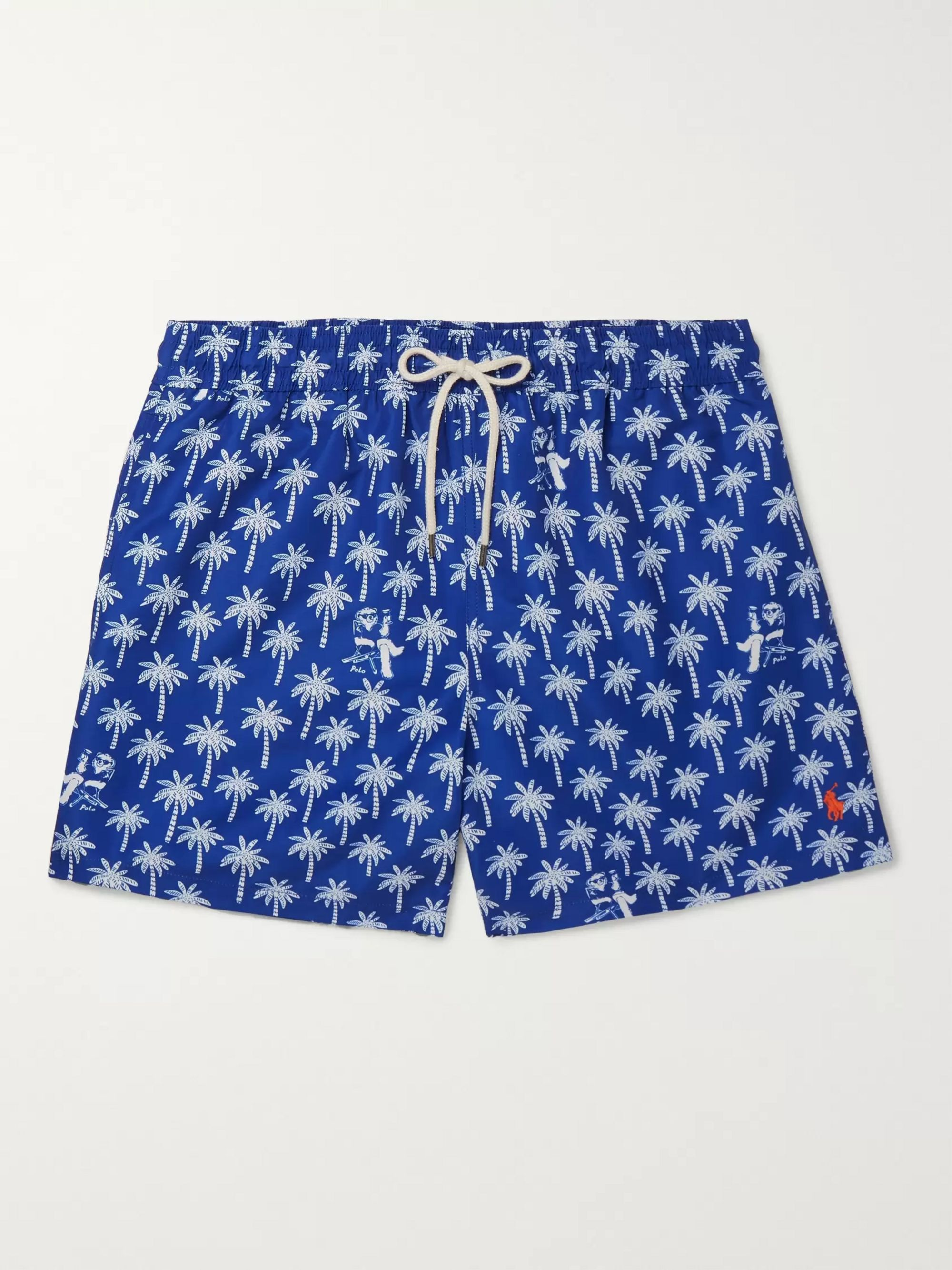 Polo Ralph Lauren Printed Mid-Length Swim Shorts