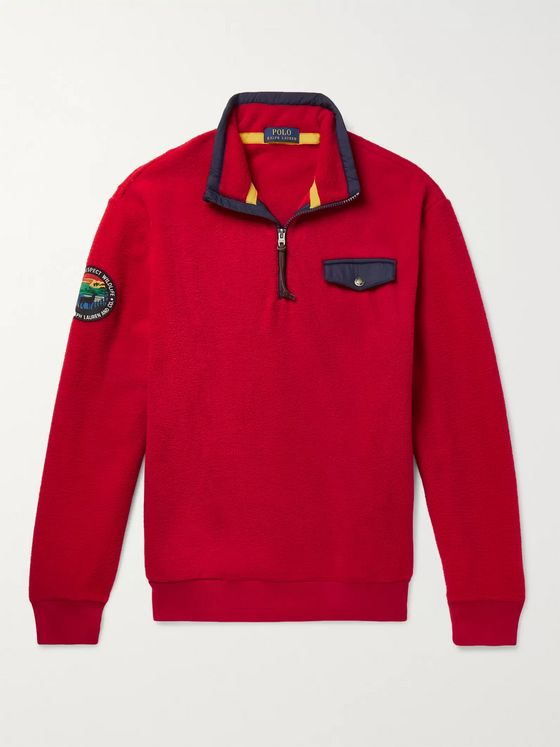 Polo Ralph Lauren Fleece Half-Zip Sweatshirt