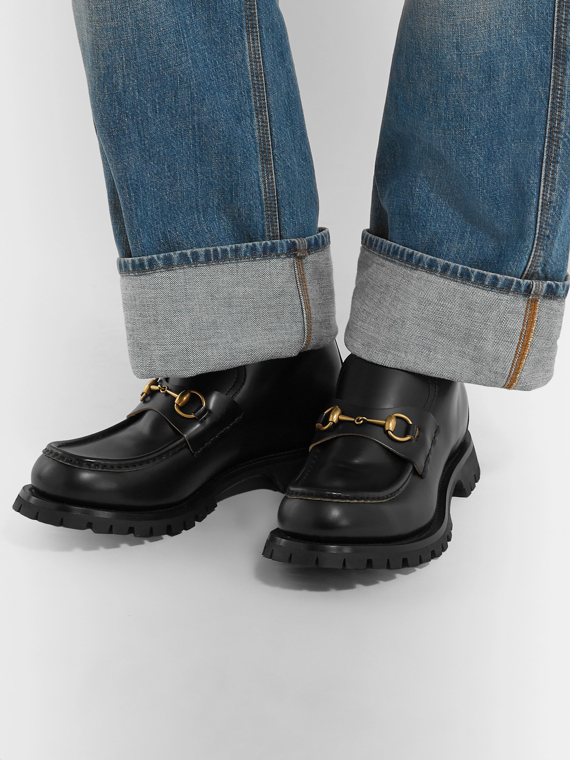 Gucci Loafers HORSEBIT LEATHER LOAFERS