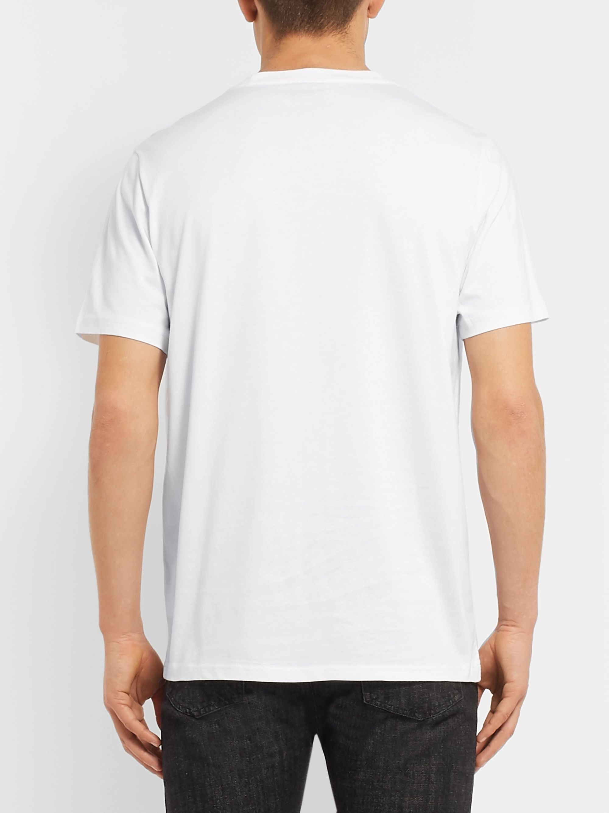 PS Paul Smith Logo-Print Organic Cotton-Jersey T-Shirt