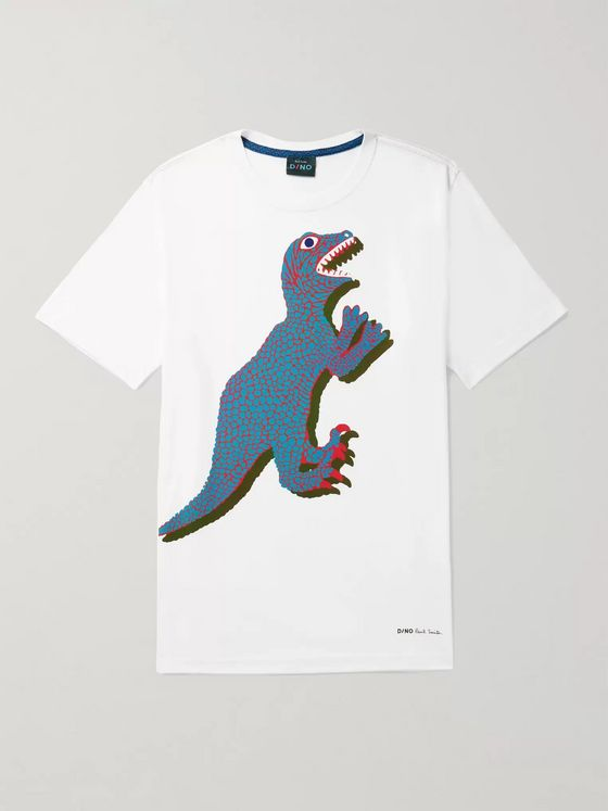 PS Paul Smith Printed Organic Cotton-Jersey T-Shirt