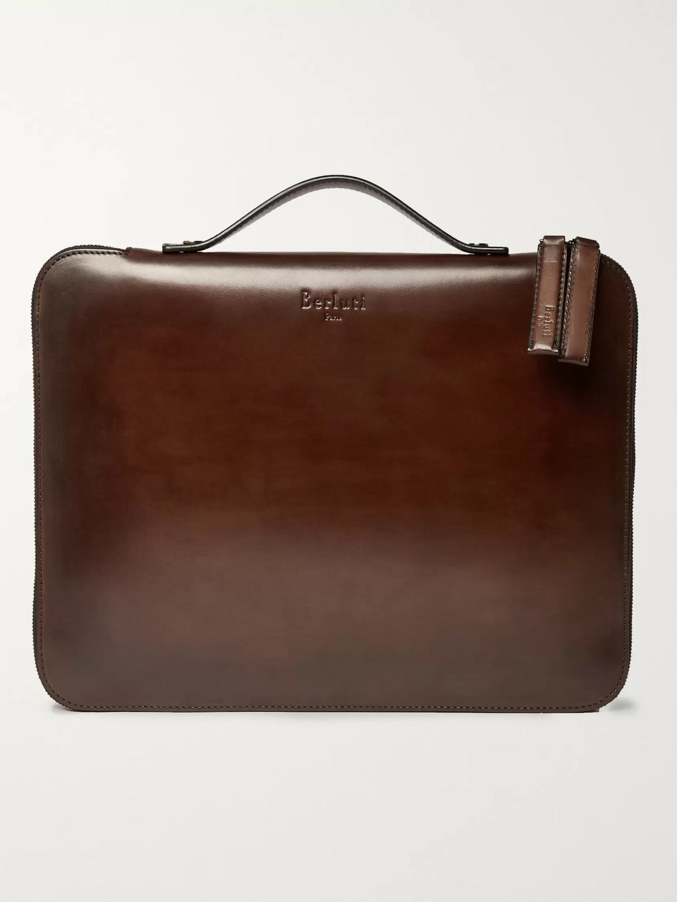 Berluti Nino Leather Briefcase