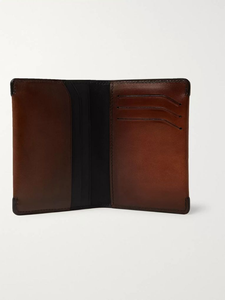 Berluti Patchwork Leather Billfold Wallet