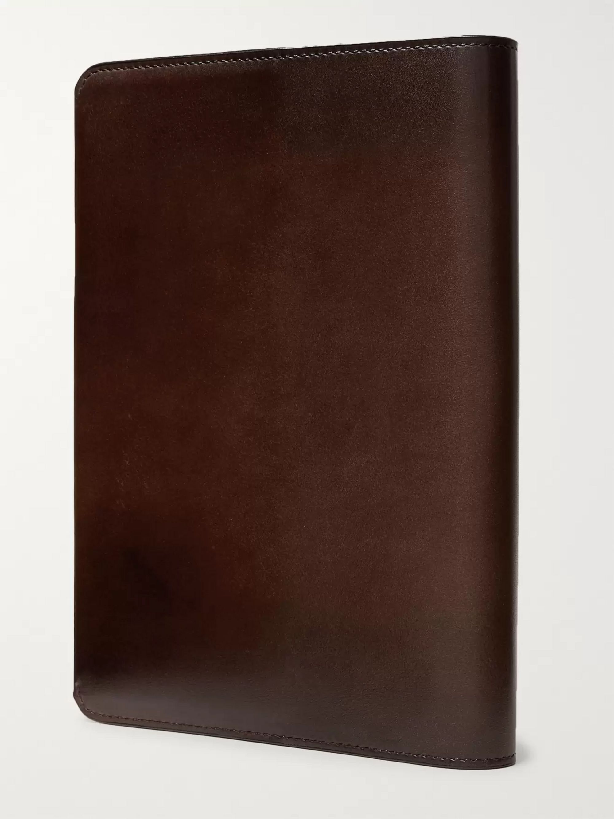 Berluti Scritto Leather Notebook Cover